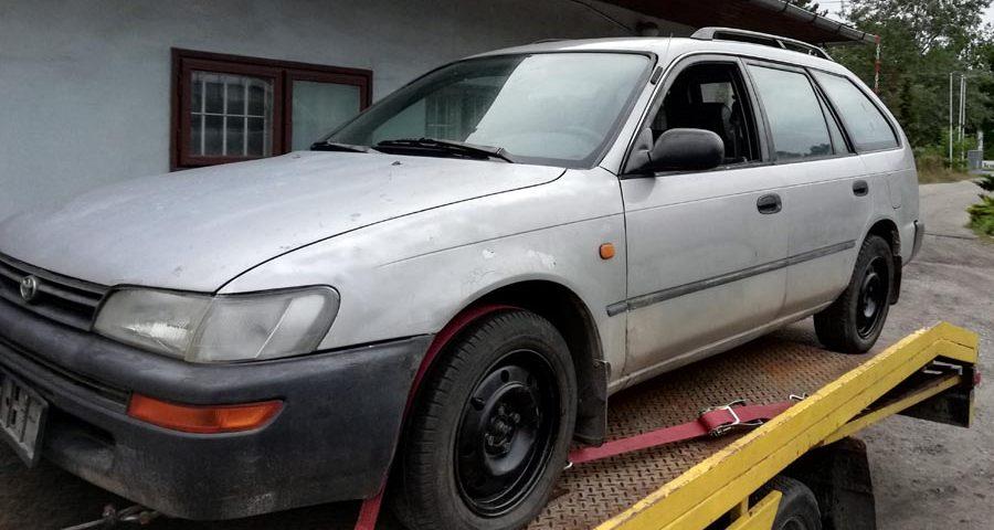 Złomowanie holowanie laweta kasacja samochodów